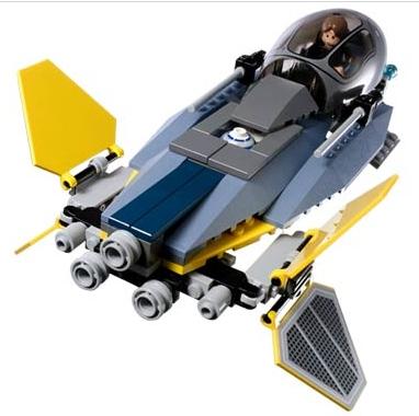 My Family Fun - Star Wars Jedi Starfighter Vulture Droid Lego Star Wars