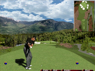 Links Course Challenge Chateau Whistler