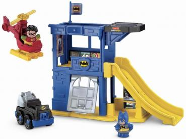 Little People DC Super Friends Batcave Playset