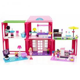Mega Bloks Barbie Building Set Fab Mansion