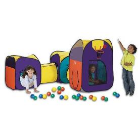 Megaland Pop Up Playset Tent Tunnel