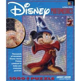 Mickey Sorcerer Photomosaic Jigsaw Puzzle