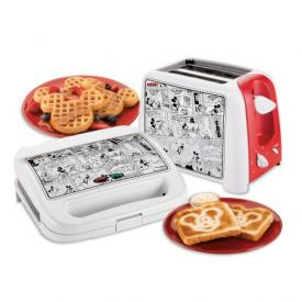 Mickey Toaster and Waffle Maker