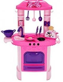 My Family Fun - Minnie Mouse Kitchen Play Set Play with Minnie ...