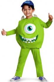 Monsters University Mike Deluxe Costume