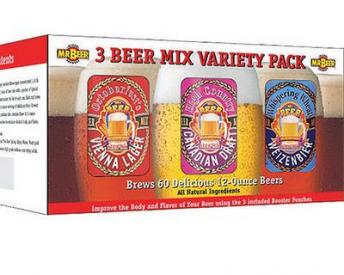 Mr Beer Kit Beer Mix Variety Pack