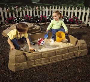 Naturally Playful Sandbox