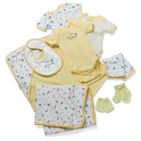 Pampers Starter Set Yellow preemie