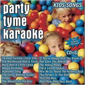 Party Tyme Karaoke CD Kids Songs