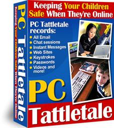 PC Tattletale Internet Monitor For Kids