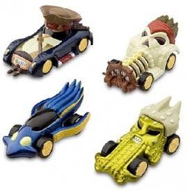 Pirates of the Caribbean Die Cast Car Set