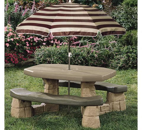 Permalink to plans to build a children's picnic table
