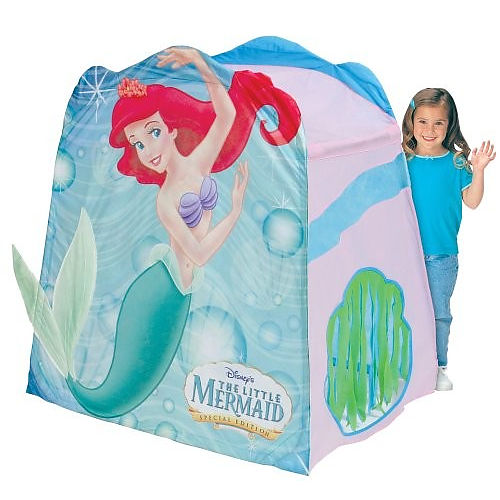 Picture 1  sc 1 st  My Family Fun & My Family Fun - Playhut Little Mermaid Ariel Megahouse Tent Ideal ...