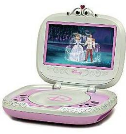 Portable Disney Princess DVD Player