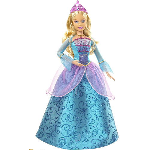 Princess Rosella Doll Barbie The Island
