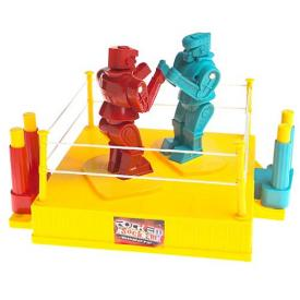 Rock em Sock em Robots Plug Play TV Game