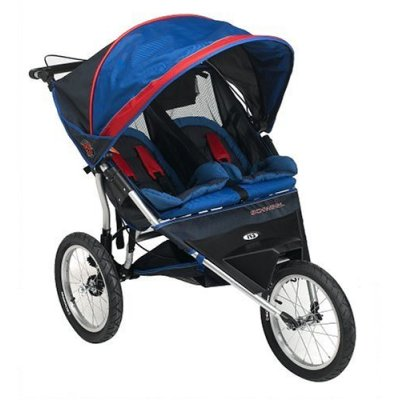 My Family Fun - Schwinn Double Jogging Stroller Smooth-rolling 16 ...
