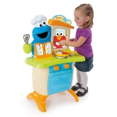 My family fun sesame street for Playskool kitchen set