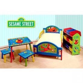 Sesame Street Elmo Toddler Bed