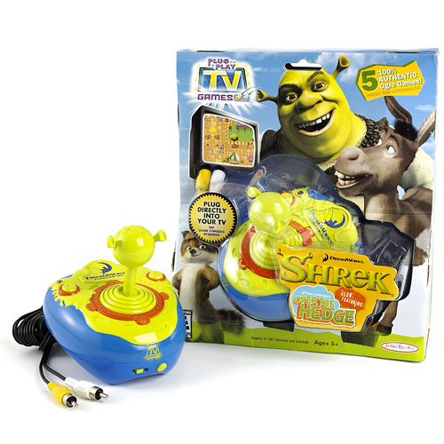 Tv Games Plug Into : My family fun shrek over the hedge plug and play tv game