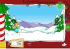 Simpson Snowfight online game