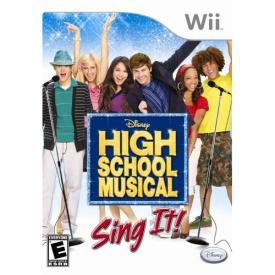 Sing It Wii Bundle Microphone High School Musical