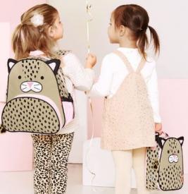 Skip Hop Zoo Little Kid Leopard Backpack