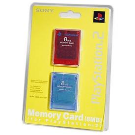 Sony Playstation 2 Memory Card 8MB 2PK
