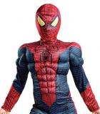 Spider Man Movie Muscle Light up Halloween Costume