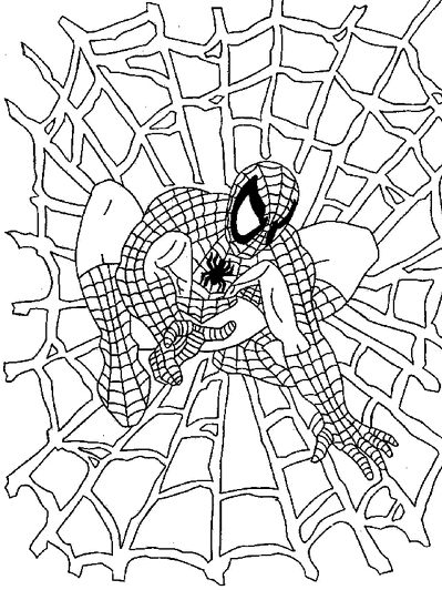Spider-Man printable sheet