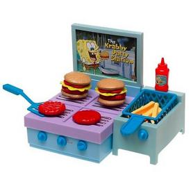 Sponge Bob Krabby Patty Station Grill