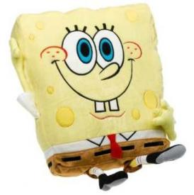 Sponge Bob Waving Sponge Plush Pillow