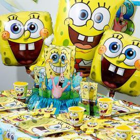 Spongebob Birthday Ultimate Kit Serves