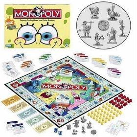 free games monopoly spongebob directions