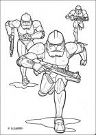 Star Wars coloring page online game