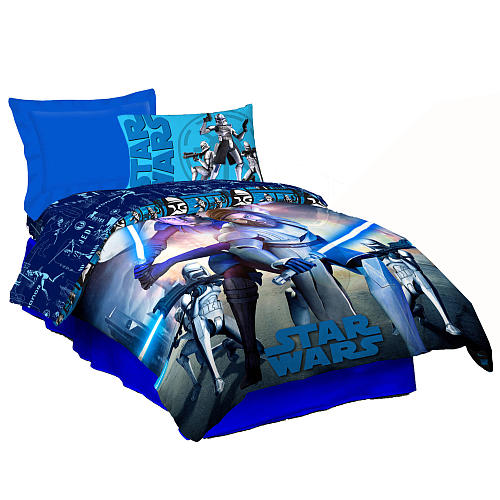 My Family Fun Star Wars Jedi Forces Comforter This