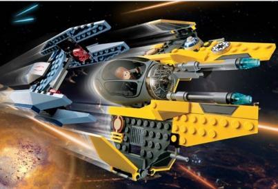 Star Wars Jedi Starfighter Vulture Droid Lego