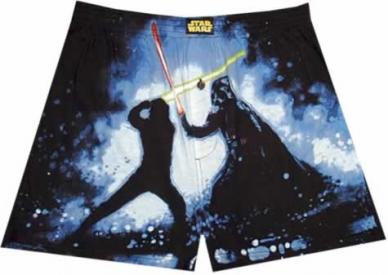 Star Wars Light Saber Battle Boxer Shorts