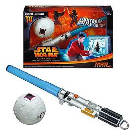 Star Wars Lightsaber Battle Game