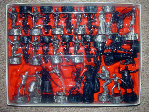 My Family Fun Star Wars Saga Edition Chess Set