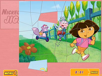 Super Jigsaw Dora