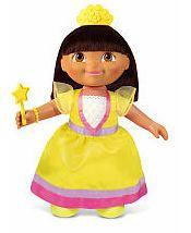 Talking Fairytale Adventure Dora Doll
