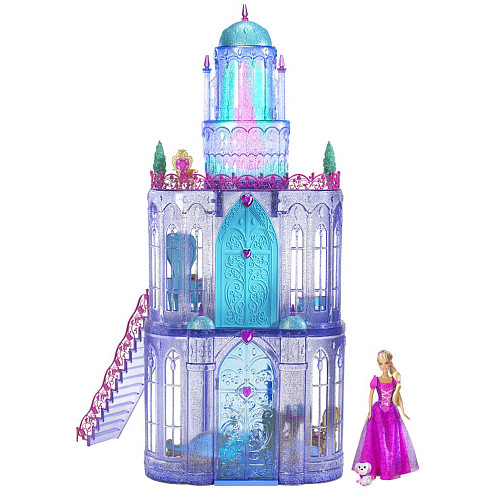 My Family Fun Barbie The Diamond Castle Playset Doll And