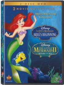 The Little Mermaid DVD