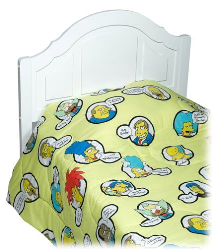 My Family Fun Simpsons Twin Comforter The Best Products