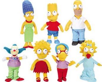 The Simpsons Plush Dolls