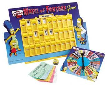 My Family Fun - The Simpsons Wheel Of Fortune Board Game ...