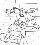 TMNT coloring pages Ninja