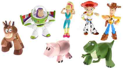 Toy Story 3 Buddy figures Heroes Gang