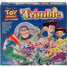 Toy Story 3 Pop-O-Matic Trouble Game